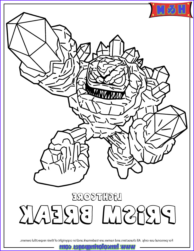 Skylanders Coloring Page Luxury Photography Awesome Skylander In Different Styles for Coloring Pages