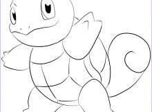 Squirtle Coloring Page Awesome Collection New Squirtle Coloring Pages Download Free Pokemon