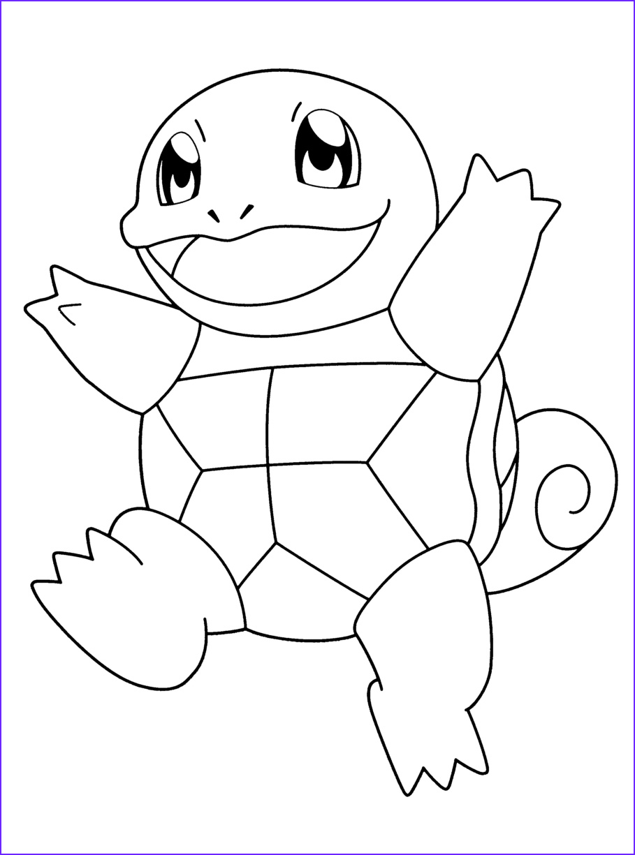 Squirtle Coloring Page Awesome Photos 28 Squirtle Coloring Page Collections