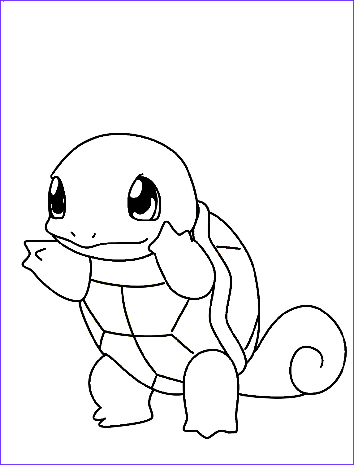 Squirtle Coloring Page Beautiful Photos Squirtle Coloring Pages Pokemon 2019