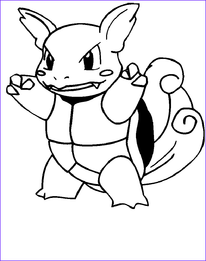 Squirtle Coloring Page Inspirational Photos Squirtle Coloring Pages Pokemon with Images