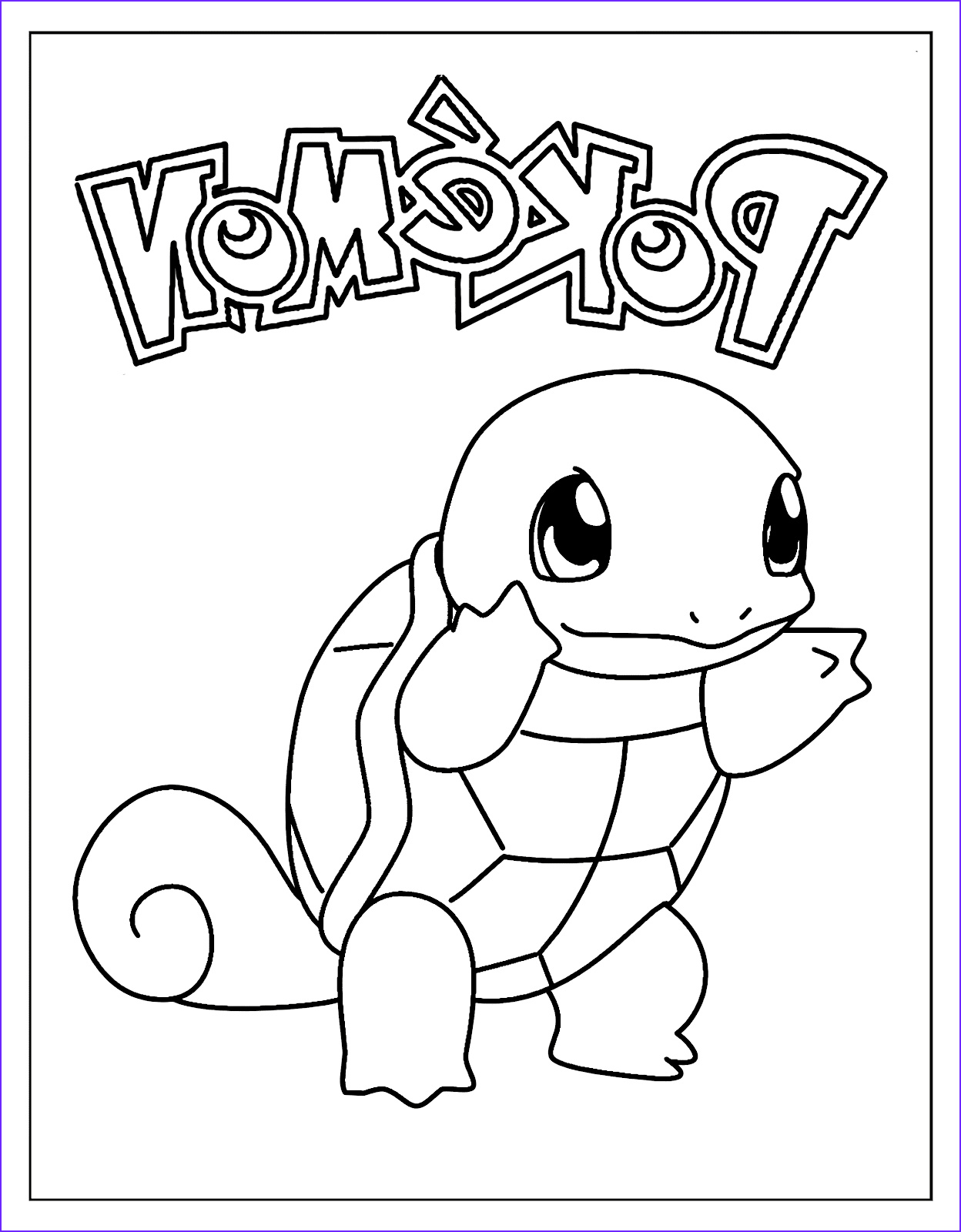 Squirtle Coloring Page Luxury Images New Squirtle Coloring Pages Download Free Pokemon