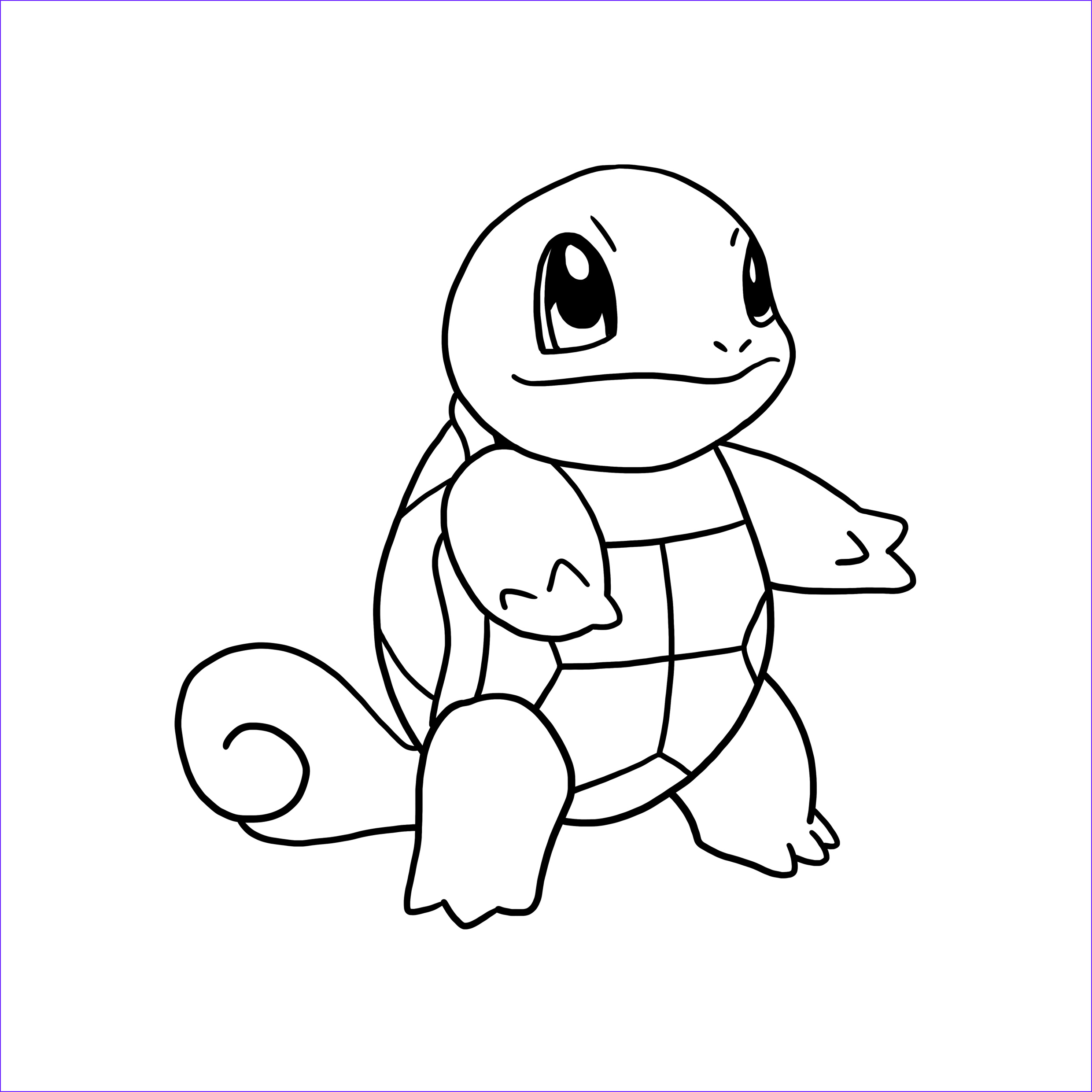 Squirtle Coloring Page Unique Photos Squirtle Coloring Page Coloring Home