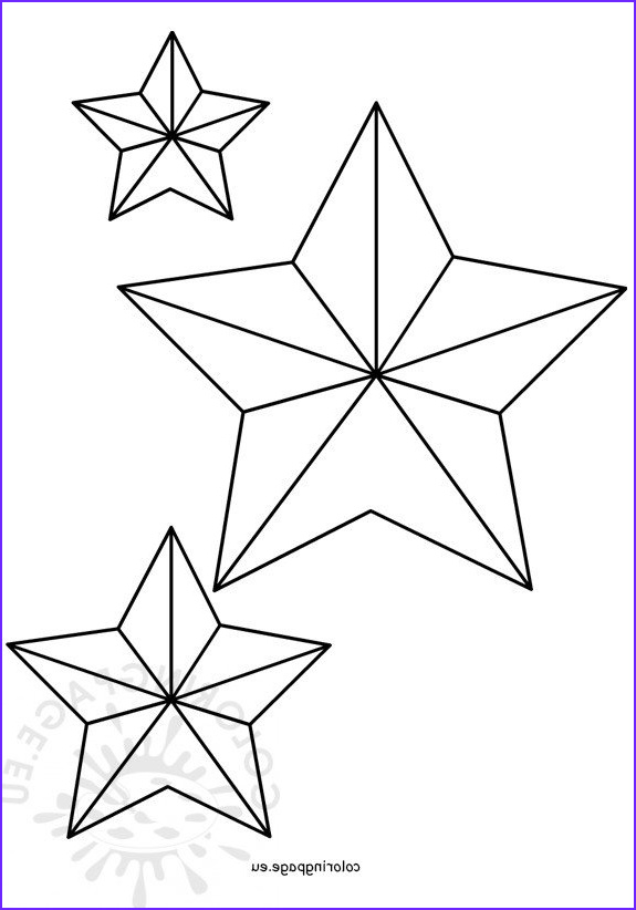 Star Coloring Book Cool Photos Five Pointed Christmas Star Shape – Coloring Page