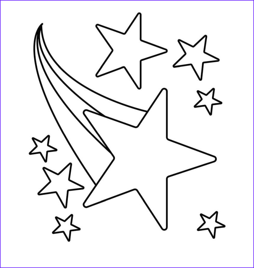Star Coloring Pic Best Of Photos 20 Free Printable Star Coloring Pages Everfreecoloring