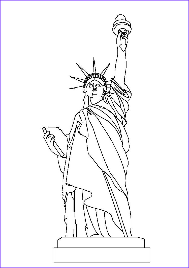 Statue Of Liberty Coloring Page Inspirational Photos 5 Best Usa Landmarks Coloring Pages for Kids Updated 2018
