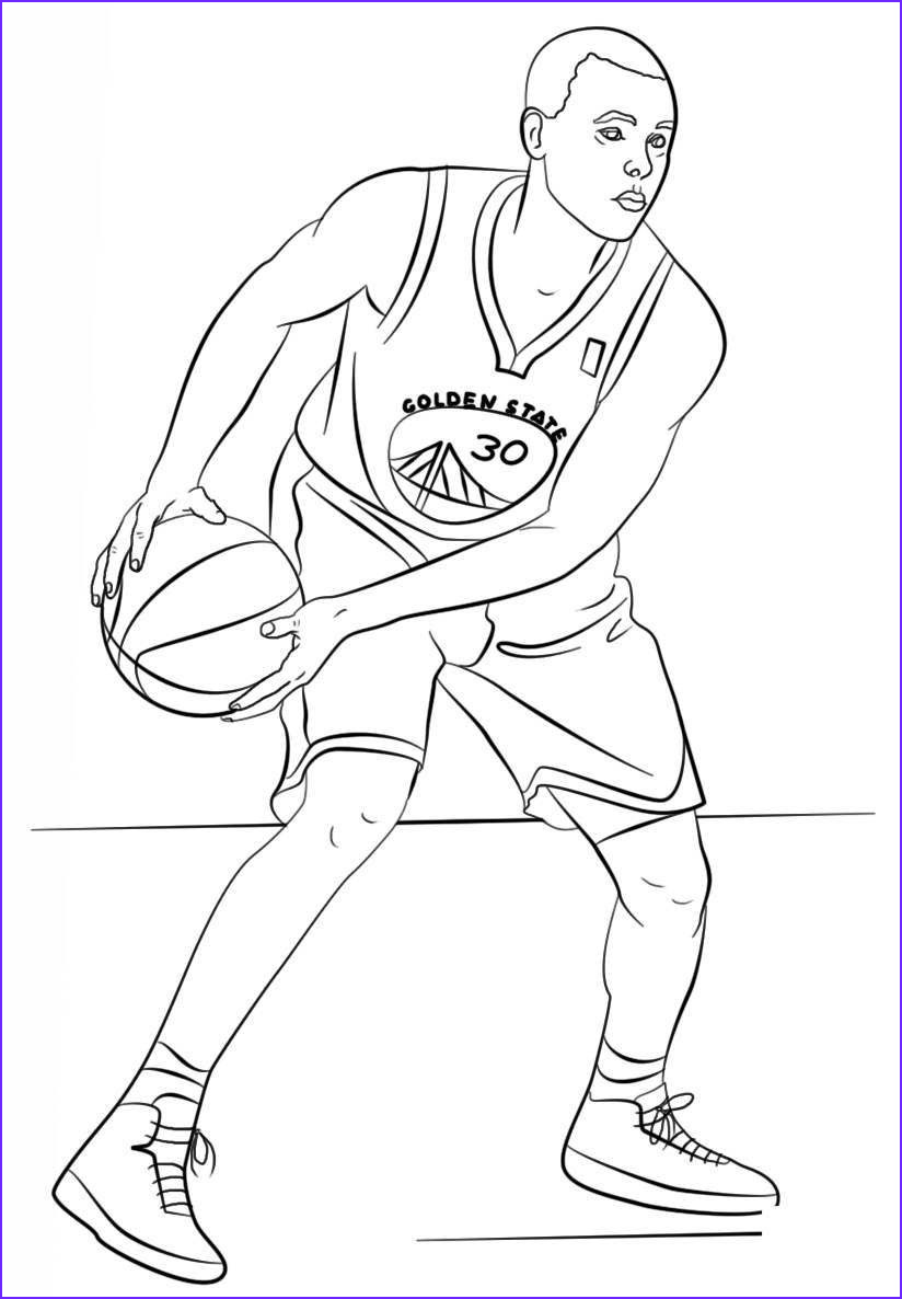 Stephen Curry Coloring Sheet Awesome Collection 25 Inspired Of Stephen Curry Coloring Pages