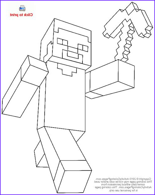Steve Minecraft Coloring Page New Photos Steve From Minecraft Coloring Page