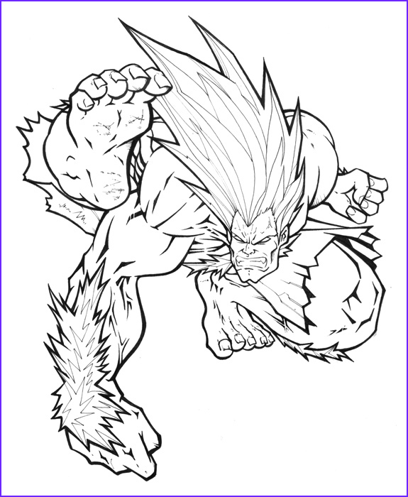 Street Fighter Coloring Page Unique Stock Street Fighter Mania Blanka by Alexlapiz On Deviantart