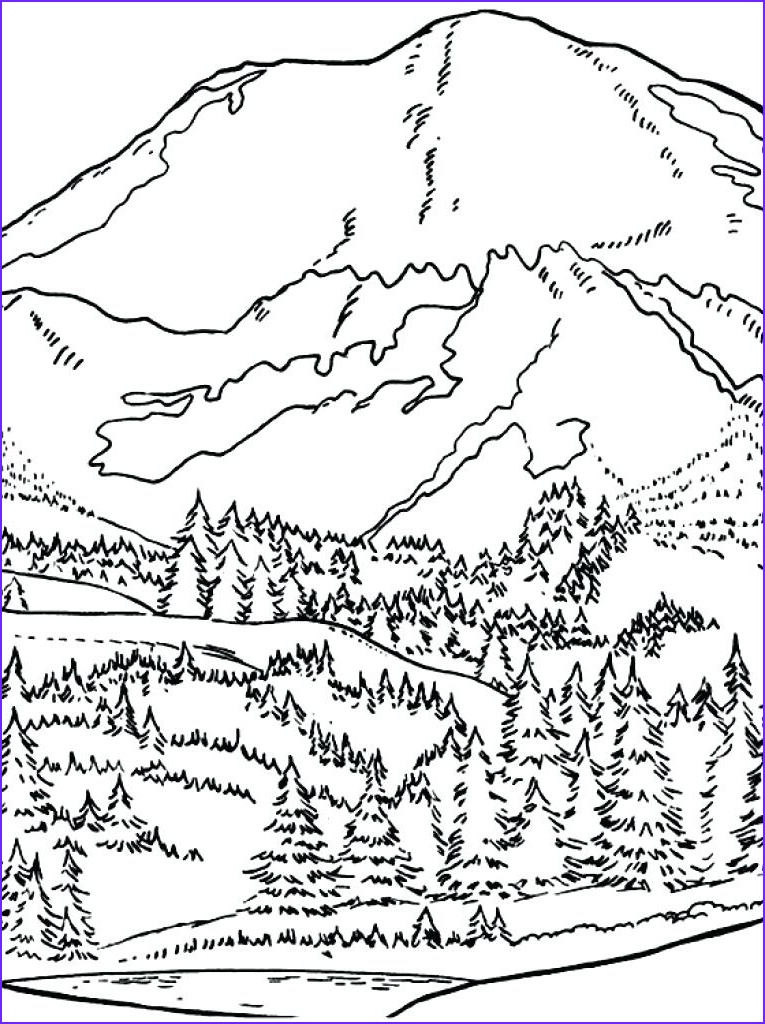 Sunrise Coloring Page Beautiful Photos The Best Free Sunrise Drawing Images Download From 211