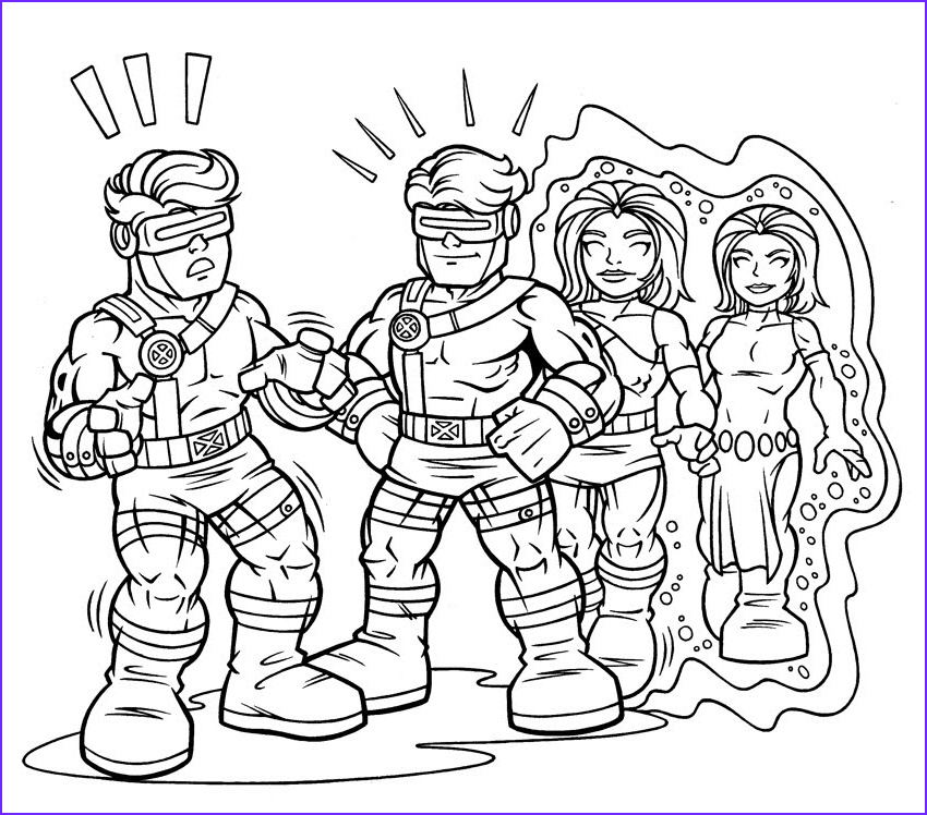 Super Heros Coloring Page Awesome Gallery Marvel Superhero Squad Coloring Pages Coloring Home