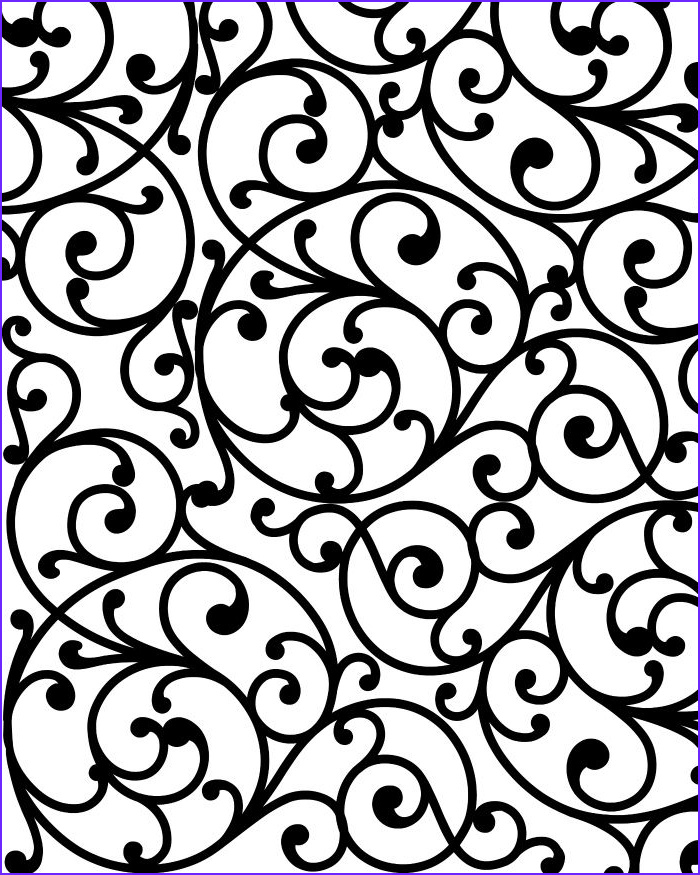 Swirls Coloring Page Beautiful Photos Free Printable Coloring Page For Adults