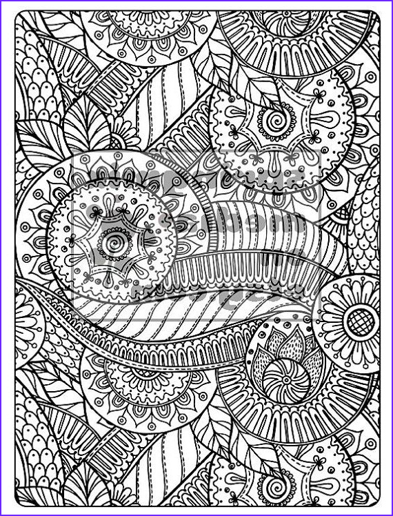 Swirls Coloring Page Inspirational Collection Swirls 04 By Springmixmedia On Etsy