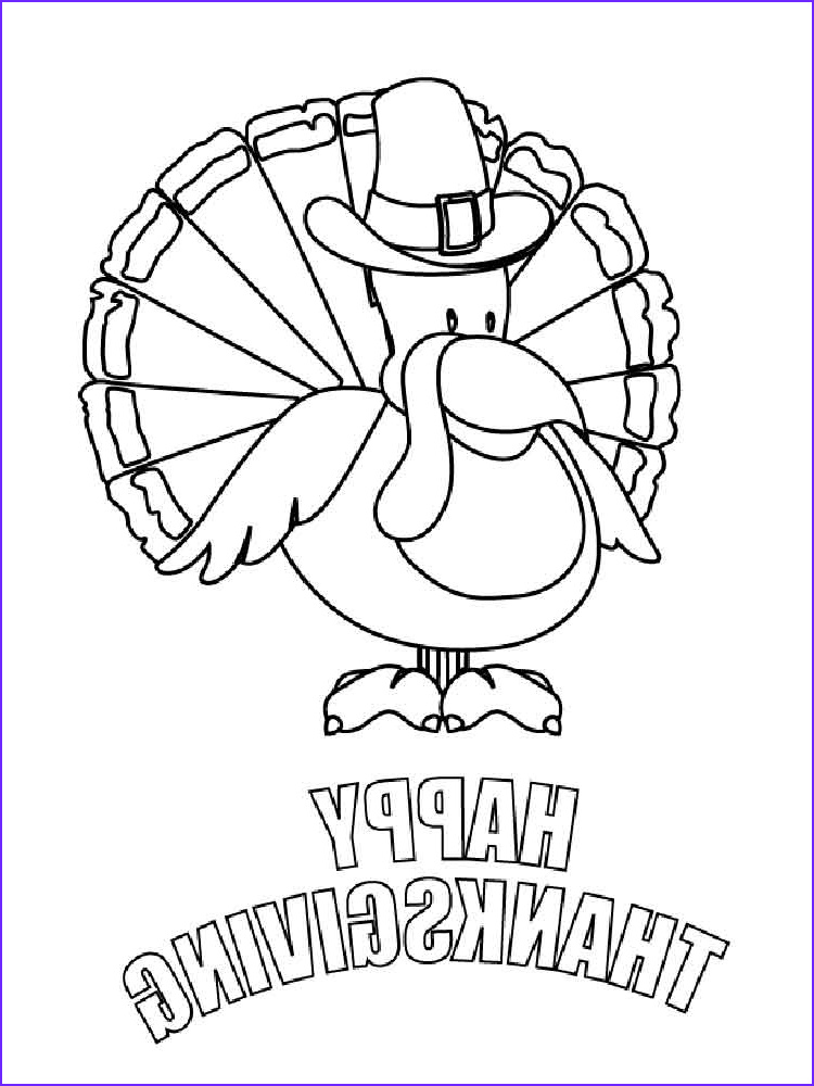 Thanksgiving Coloring Page to Print Luxury Gallery Happy Thanksgiving Coloring Pages Free Printable Happy