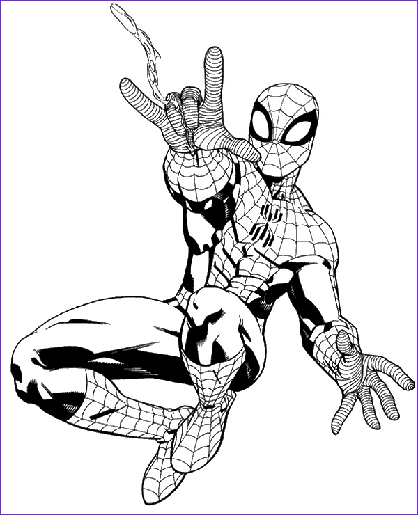 The Amazing Spider Man Coloring Page Beautiful Photos Spiderman Colouring Pages 28 topcoloringpages