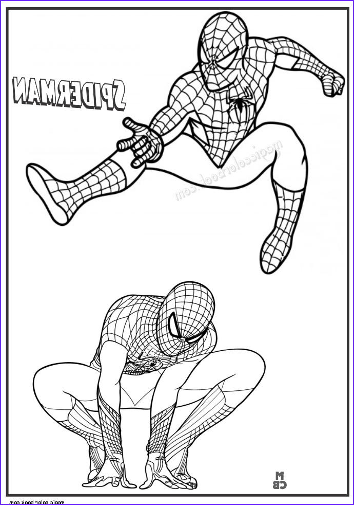 The Amazing Spider Man Coloring Page Best Of Photos Pin by Magic Color Book On Spiderman Coloring Pages Free