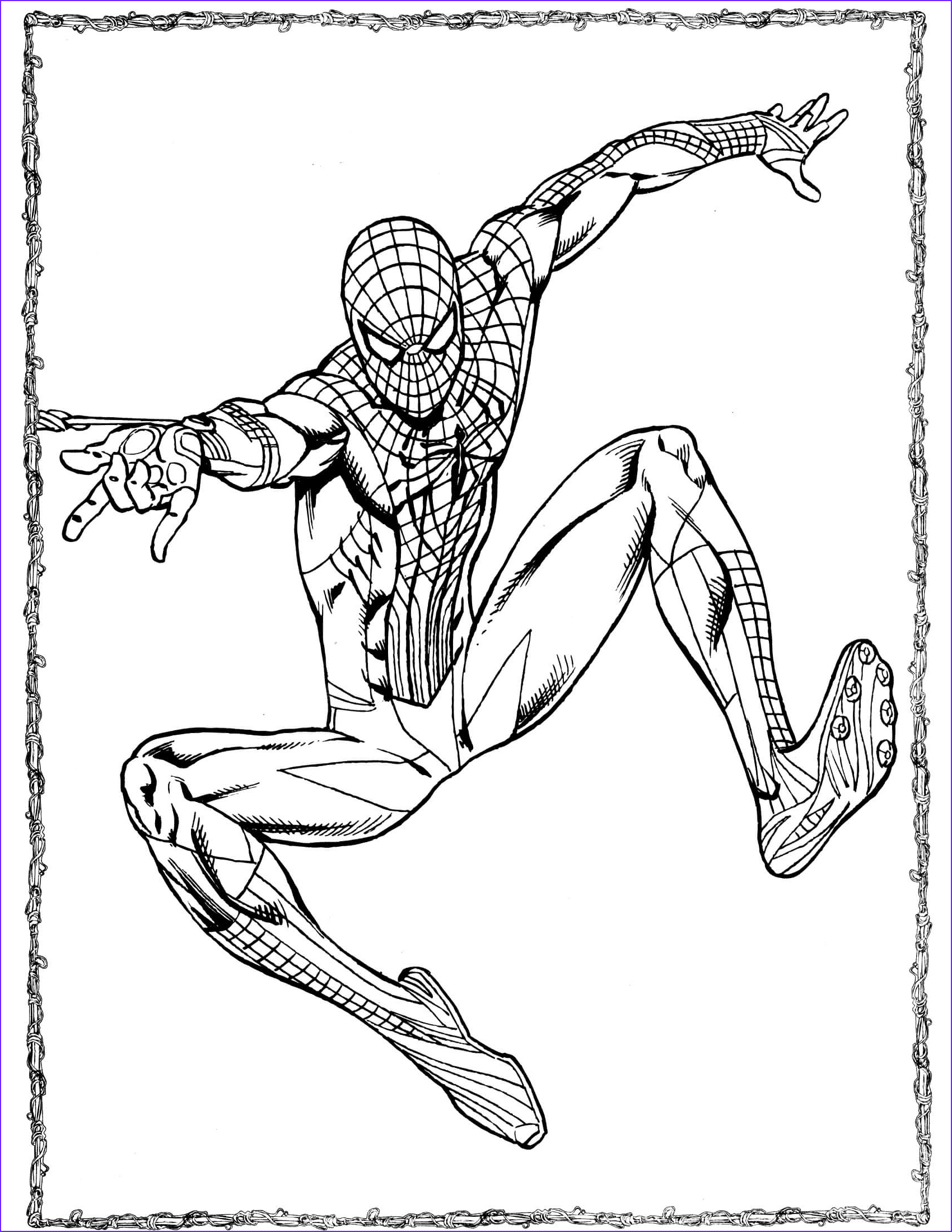 The Amazing Spider Man Coloring Page Cool Stock Spider Man 47 Coloringcolor