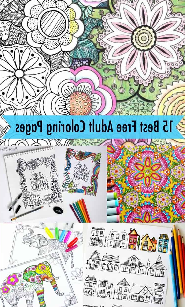 The Best Adult Coloring Book Beautiful Gallery 15 Favorite Free Adult Coloring Pages Diycandy