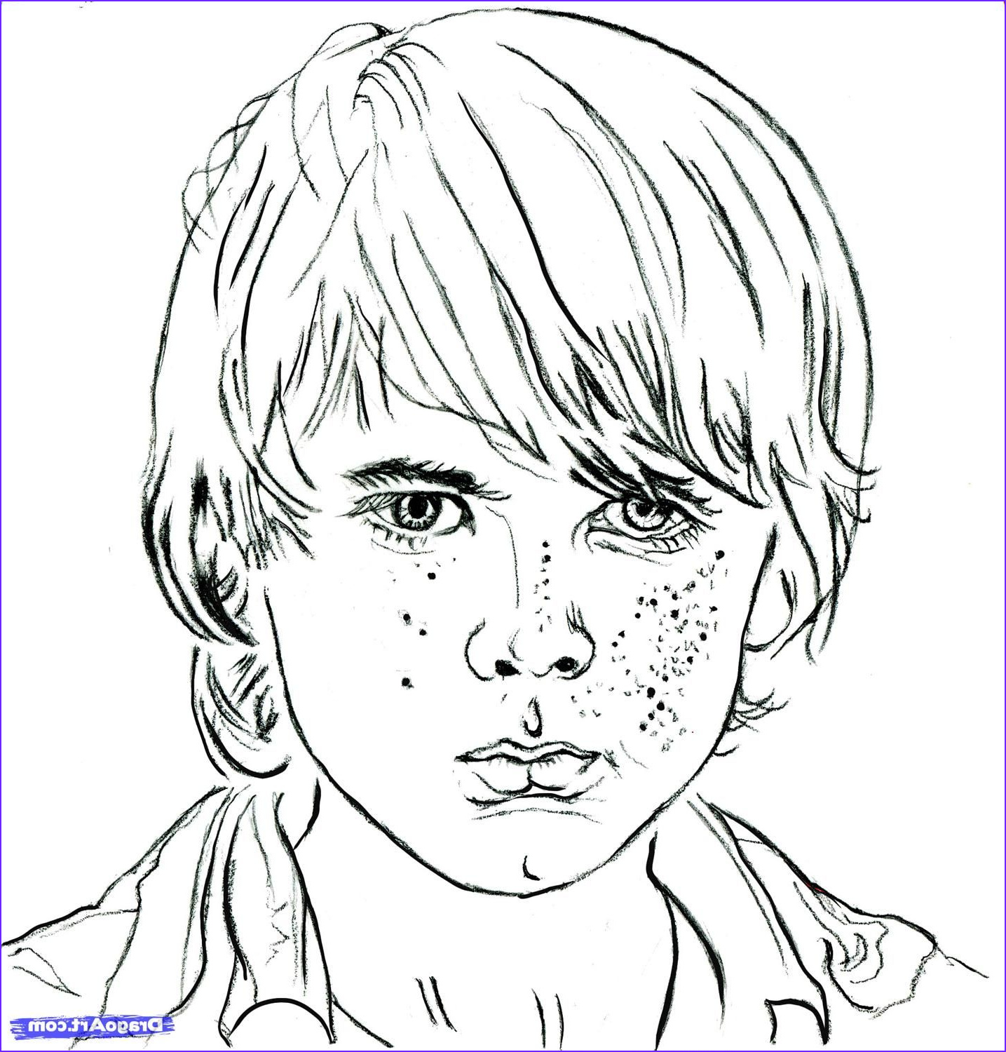 The Walking Dead Coloring Page Awesome Photos How to Draw Carl Carl From the Walking Dead Chandler