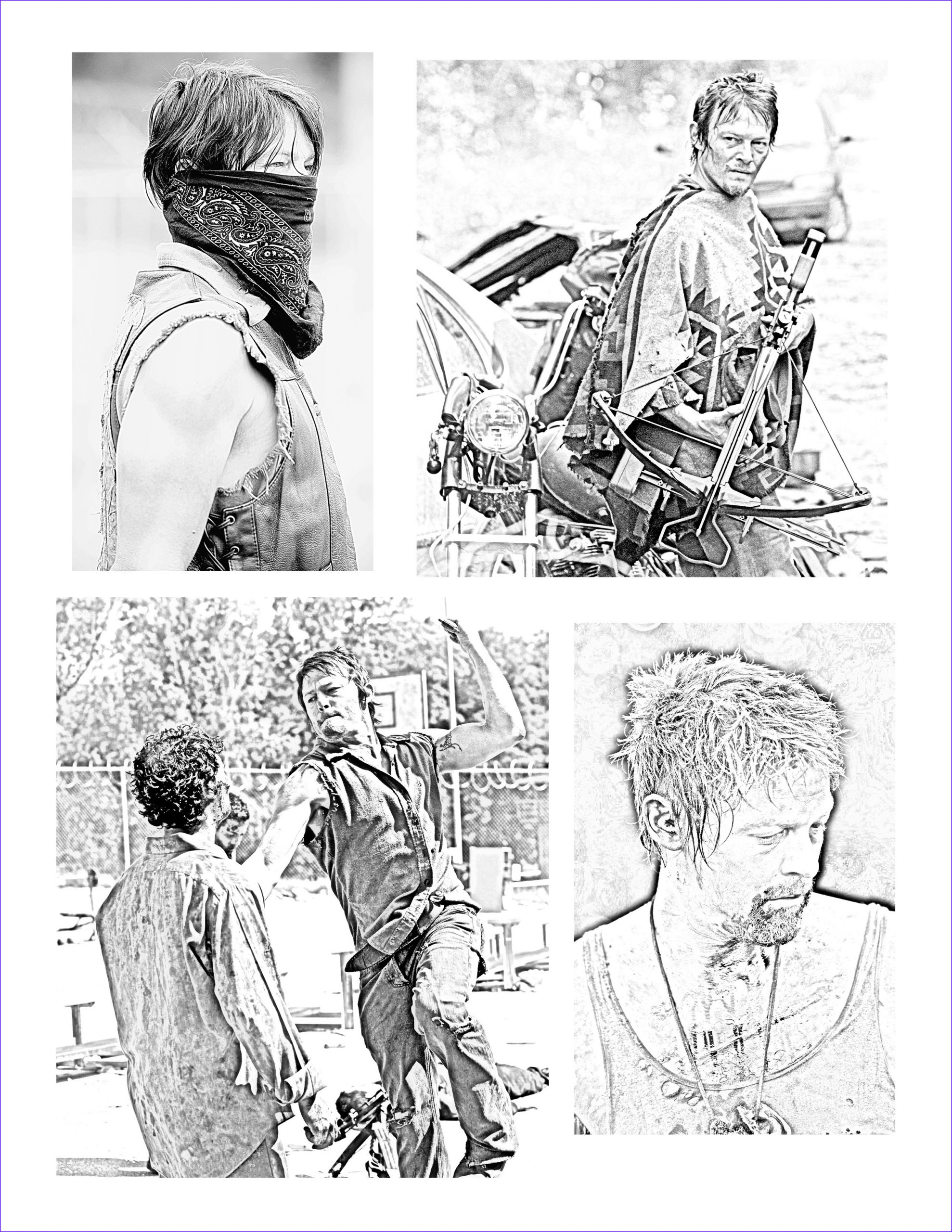 The Walking Dead Coloring Page Beautiful Stock the Walking Dead Coloring Pages Daryl the Walking