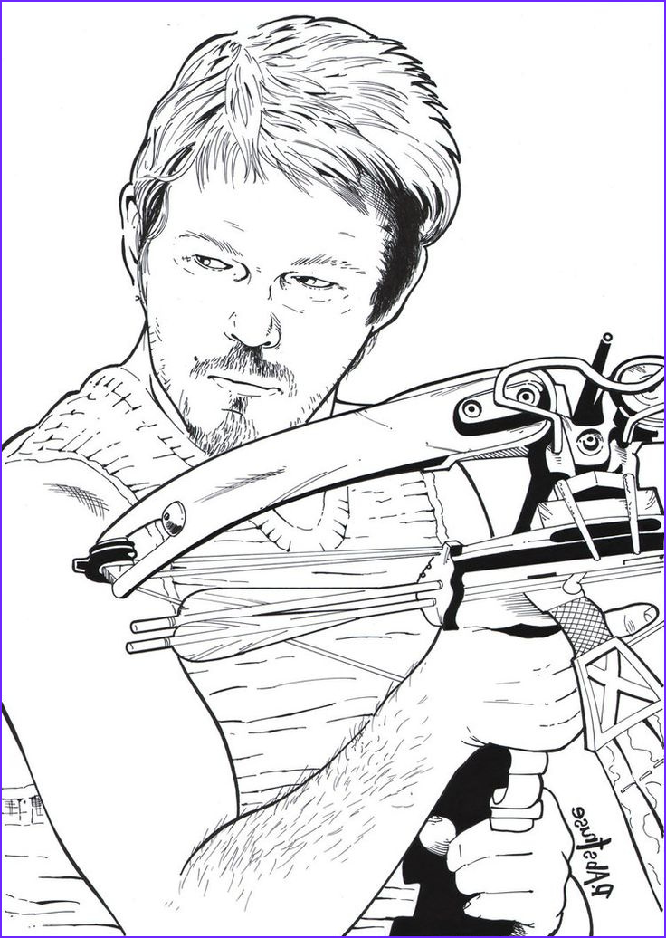 The Walking Dead Coloring Page New Collection 42 Best Images About Walking Dead Coloring Book On