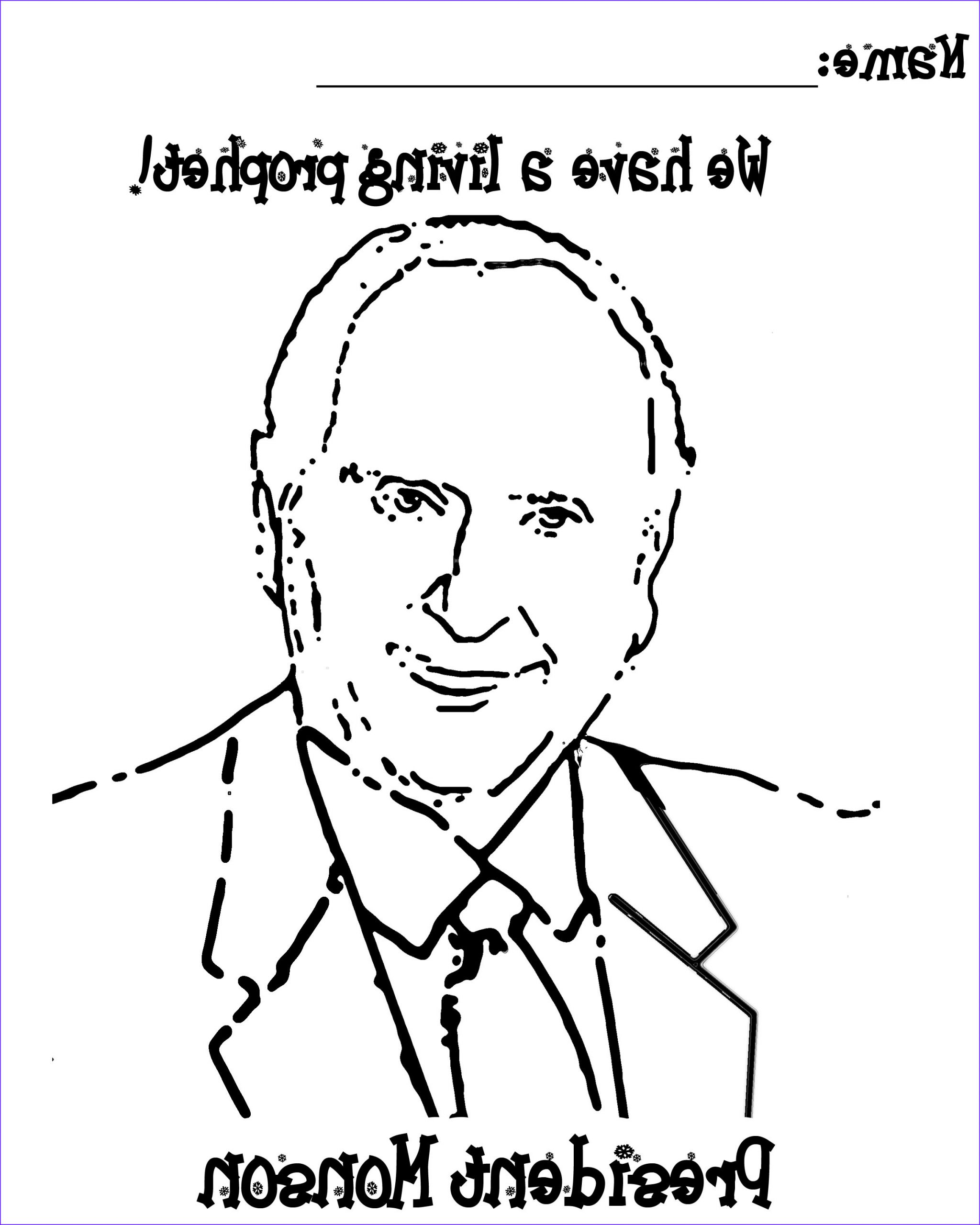 Thomas S Monson Coloring Page Luxury Photography President Monson General Conference Coloring Page Coloring