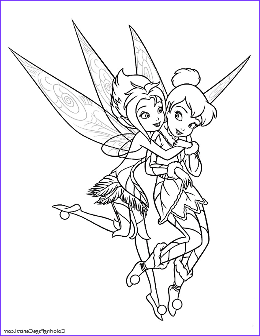 Tinker Bell Coloring Picture Unique Photos Tinkerbell Periwinkle 01 Coloring Page