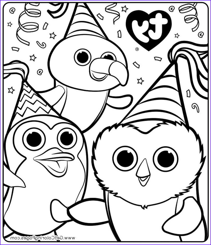 Ty Beanie Boos Coloring Page Awesome Images 20 Free Printable Beanie Boo Coloring Pages