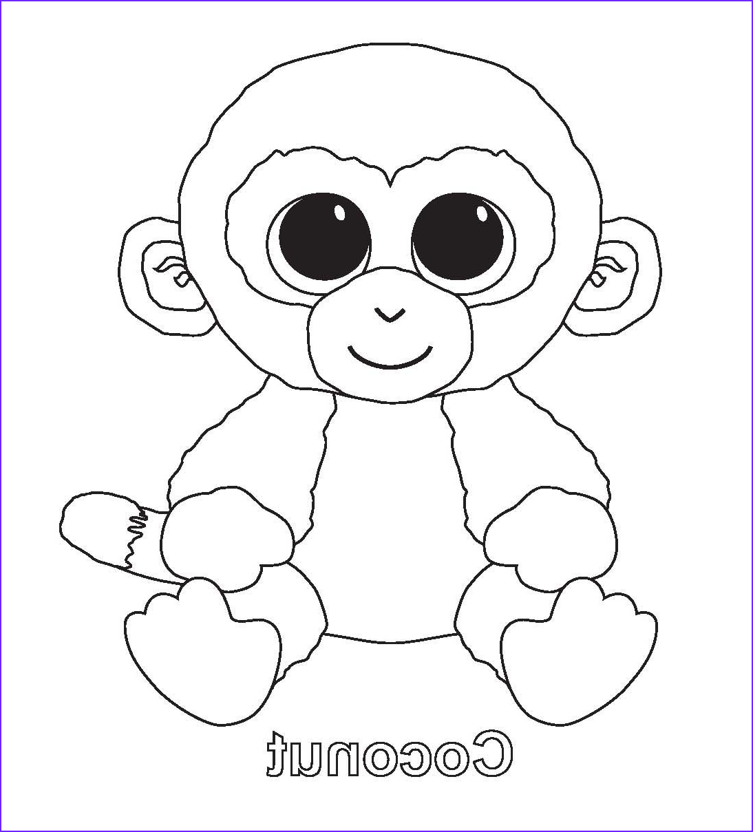 Ty Beanie Boos Coloring Page Best Of Photos Ty Coloring Pages