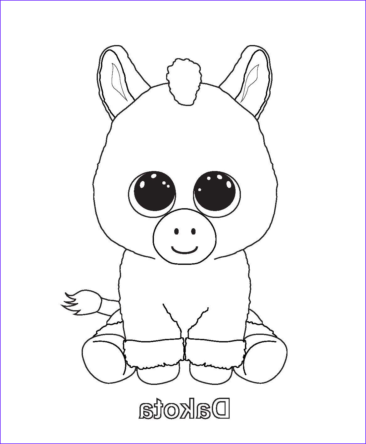 Ty Beanie Boos Coloring Page Cool Images Beanie Boo Colouring Pages
