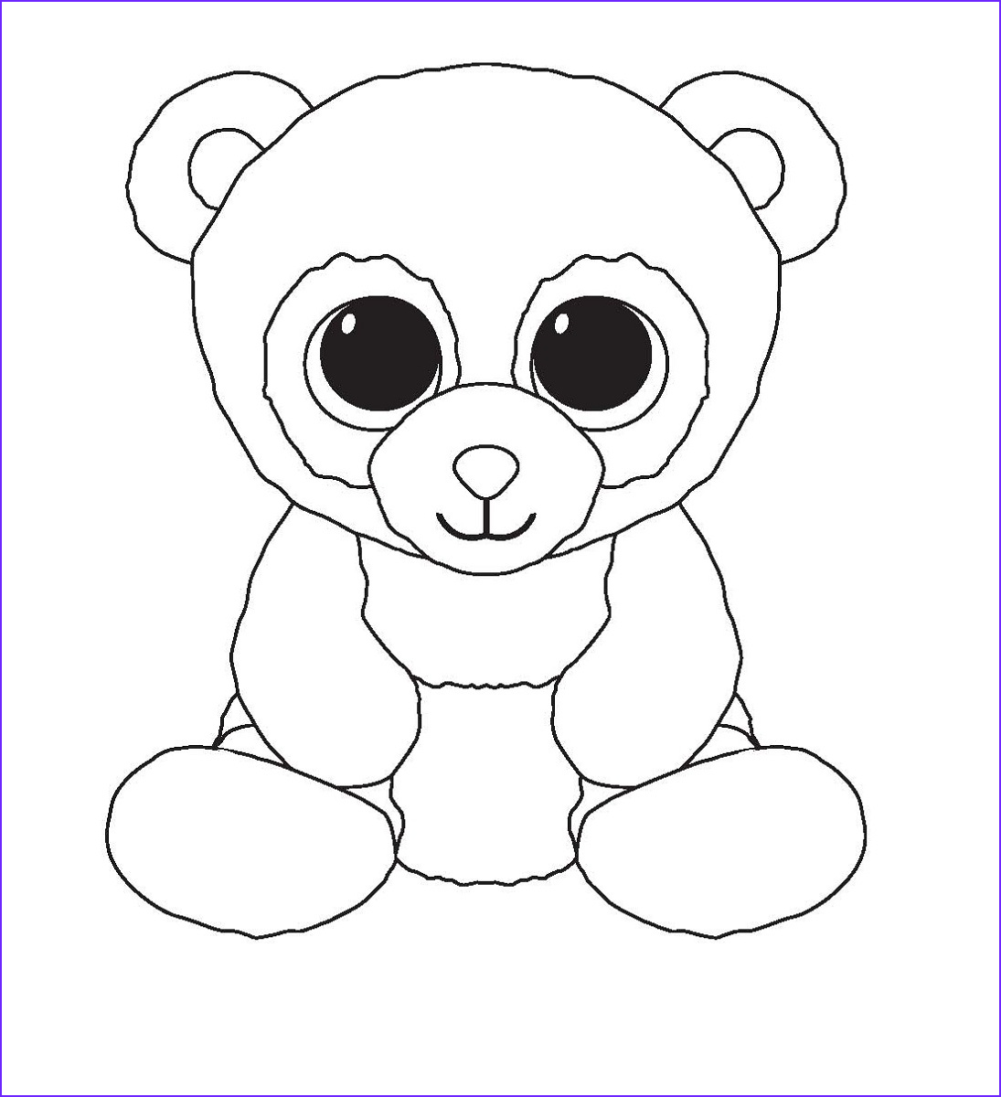 Ty Beanie Boos Coloring Page Inspirational Photos Beanie Boo Coloring Pages for Kids