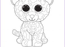 Ty Beanie Boos Coloring Page Unique Image Speckles the Leopard Ty Beanie Boo