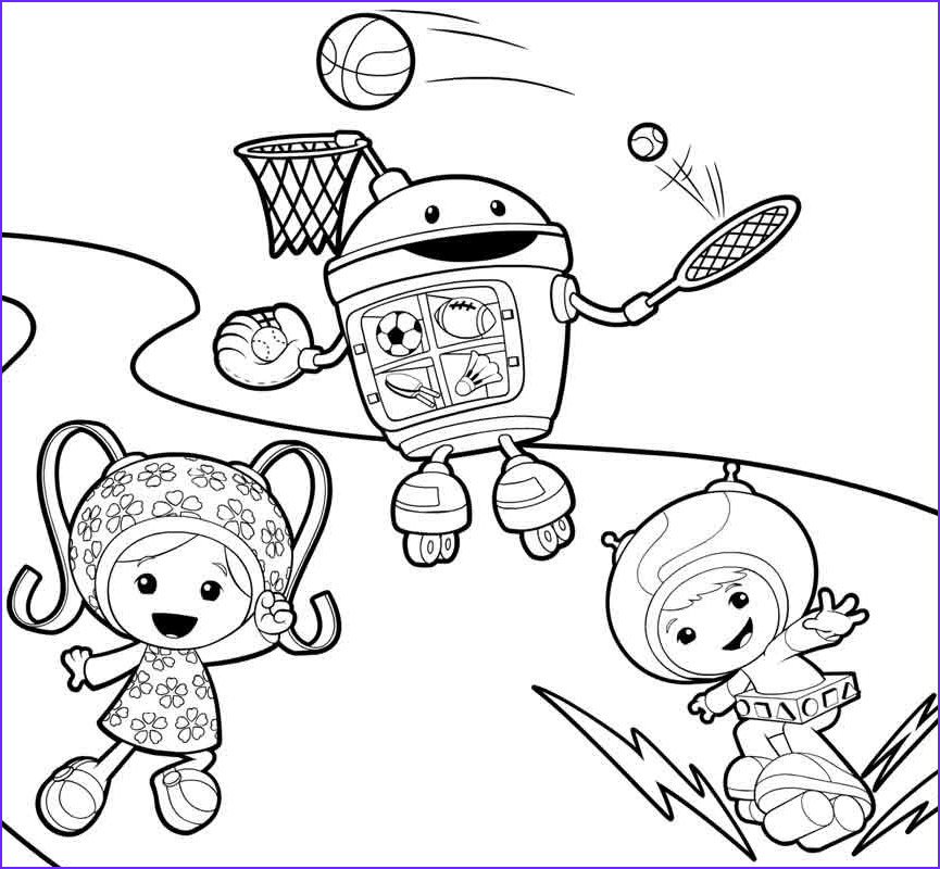 Umizoomi Coloring Page Awesome Photos Free Printable Team Umizoomi Coloring Pages For Kids