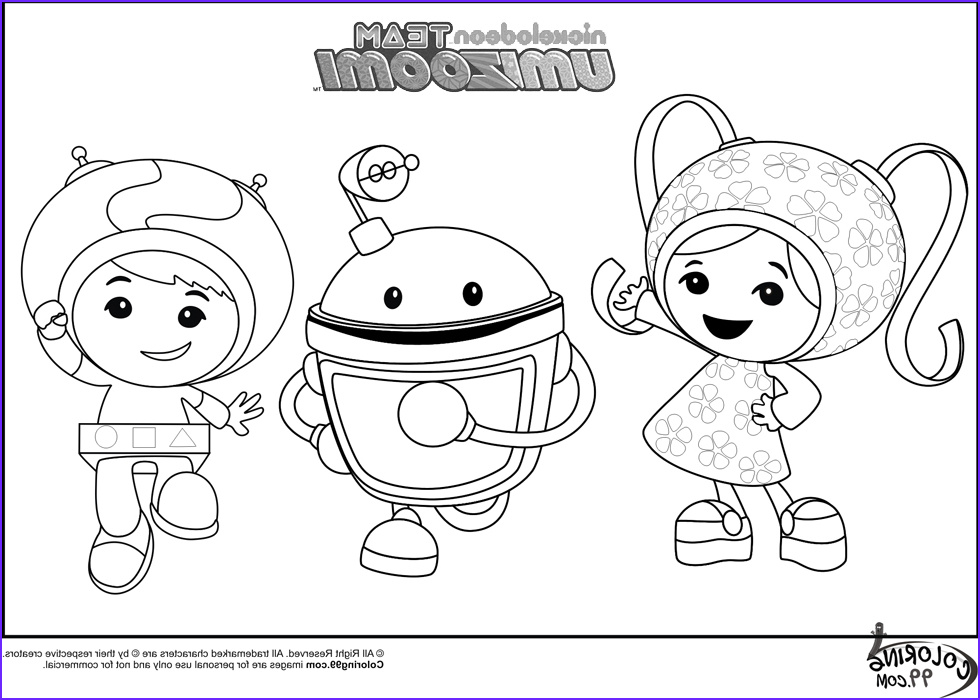 team umizoomi coloring pages