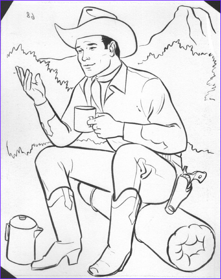 Western Coloring Sheet Best Of Stock Western Coloring Pages for Kids 5741