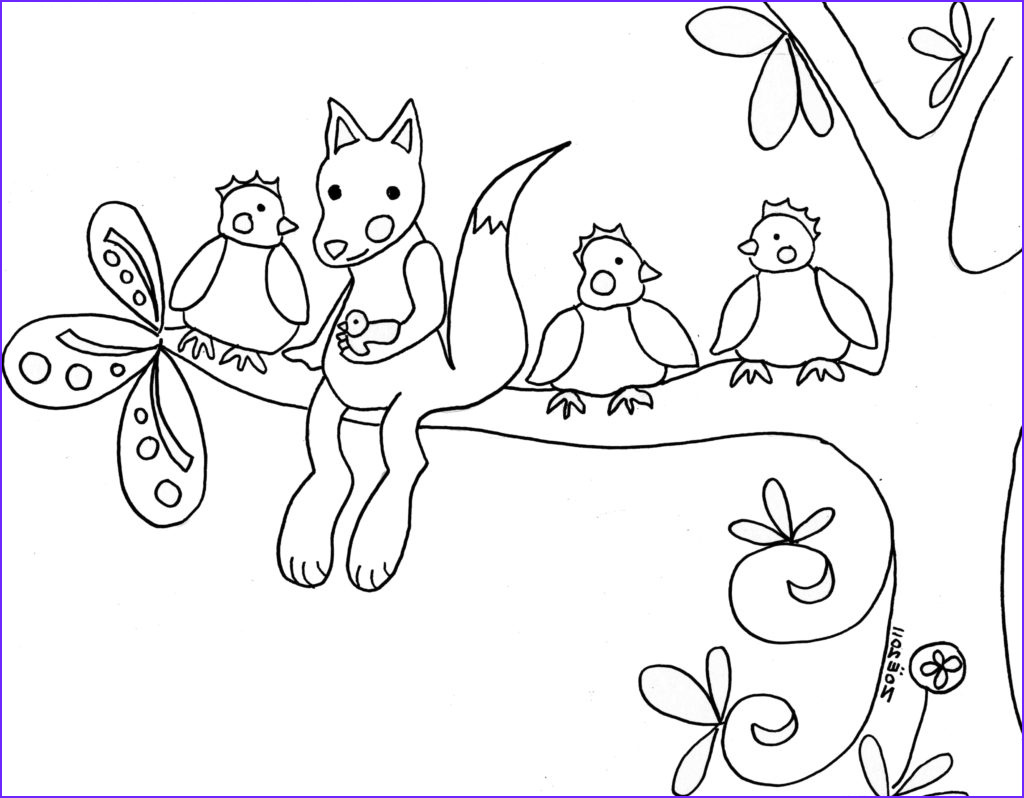 Woodland Animals Coloring Page Awesome Stock Woodland Creatures Coloring Pages at Getdrawings