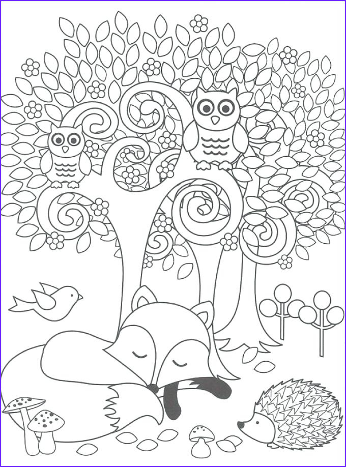 Woodland Animals Coloring Page Cool Stock the Best Free Woodland Coloring Page Images Download From