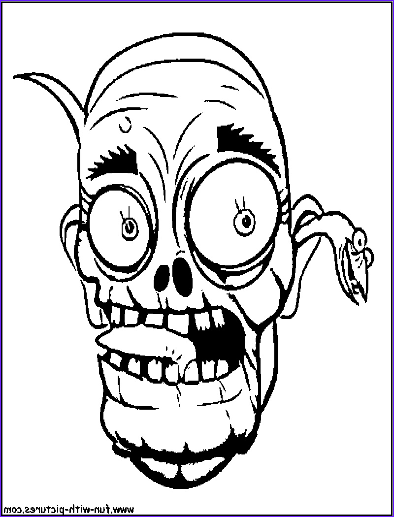 Zombie Coloring Sheet Luxury Images Scary Zombie Coloring Pages Coloring Home