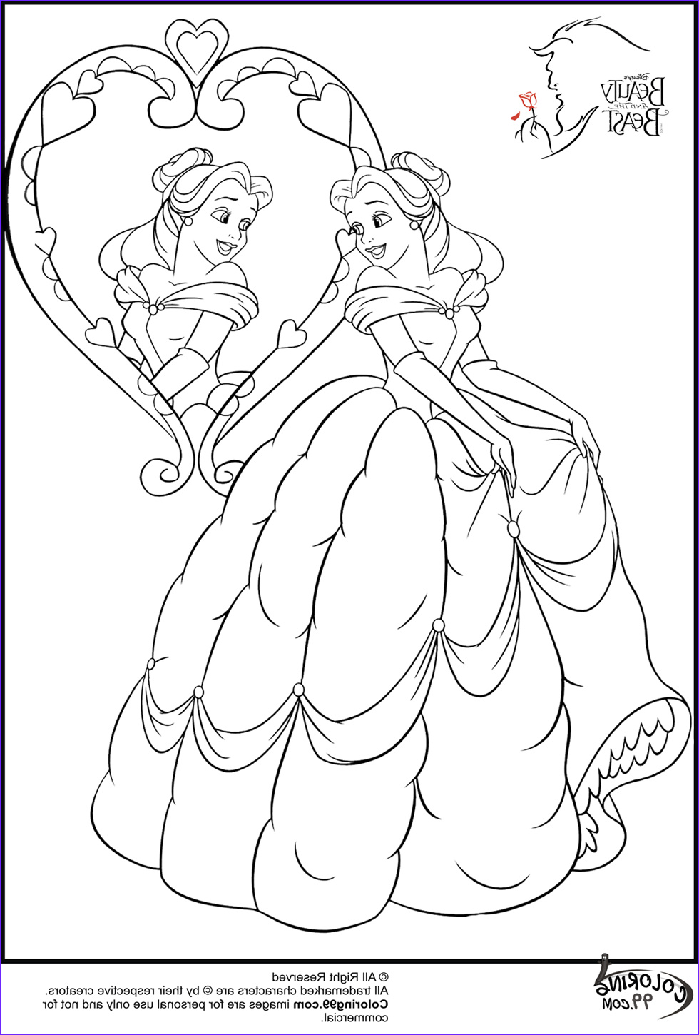 Belle Printable Coloring Page New Photos Disney Princess Belle Coloring Pages