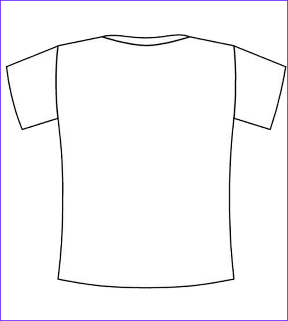 Blank T Shirt Coloring Page Cool Image T Shirt Coloring Page Coloring Home