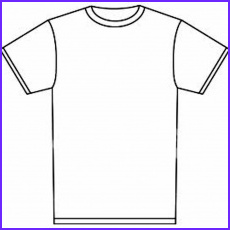 Blank T Shirt Coloring Page Luxury Collection Best S Printable T Shirt Template Blank T