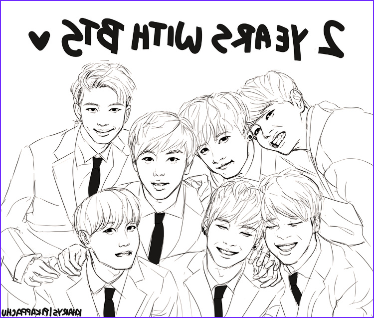 Bts Coloring Page Awesome Image Kharys On In 2019