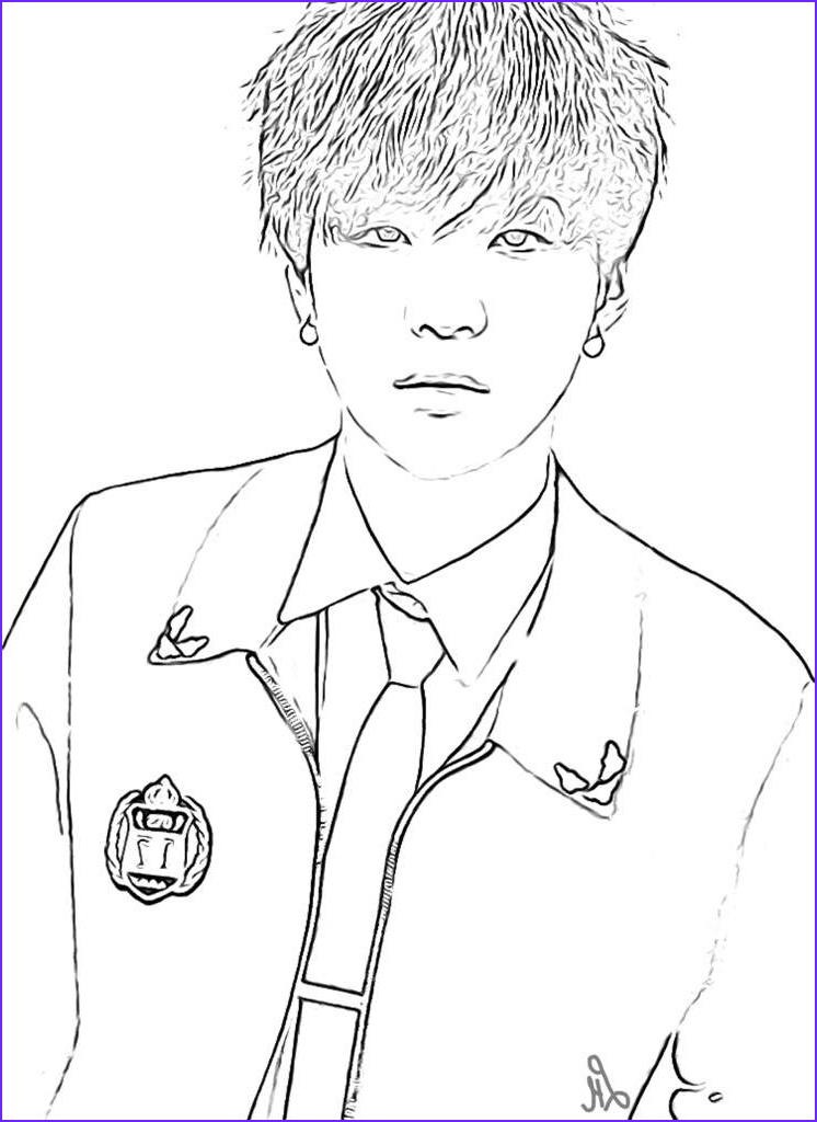 Bts Coloring Page Beautiful Photography Bts Coloring Pages