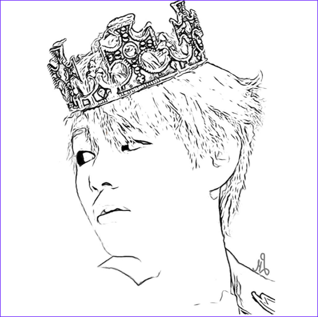 Bts Coloring Page Cool Gallery Bts Coloring Pages