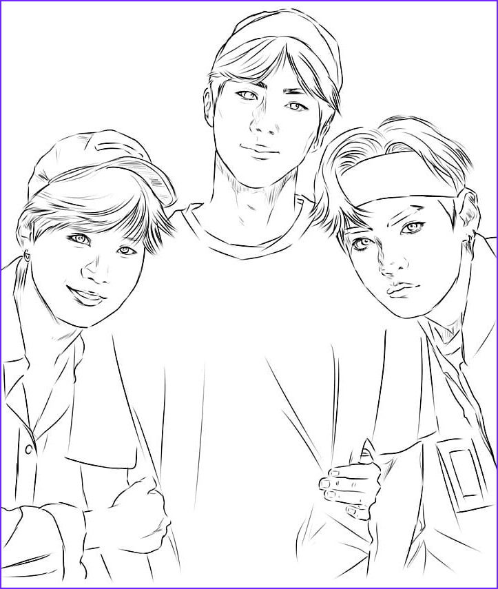 Bts Coloring Page Cool Photography Bts Coloring Pages Print for Free 120 Unique