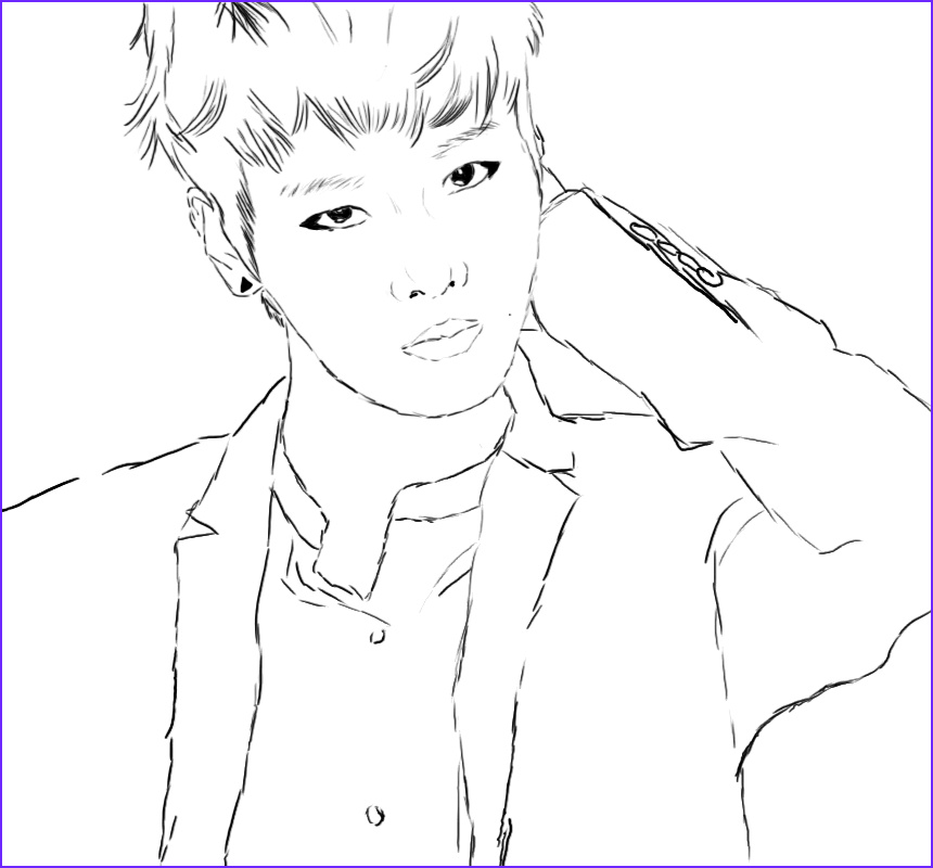 Bts Coloring Page New Images Bts Kpop Coloring Sheets Coloring Pages