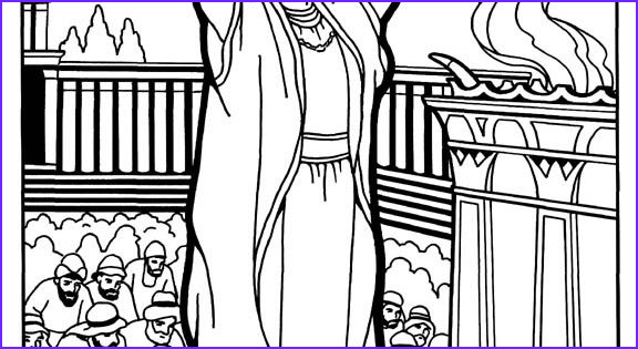 Building the Temple Coloring Page Cool Photos solomon Builds the Temple Coloring Pages