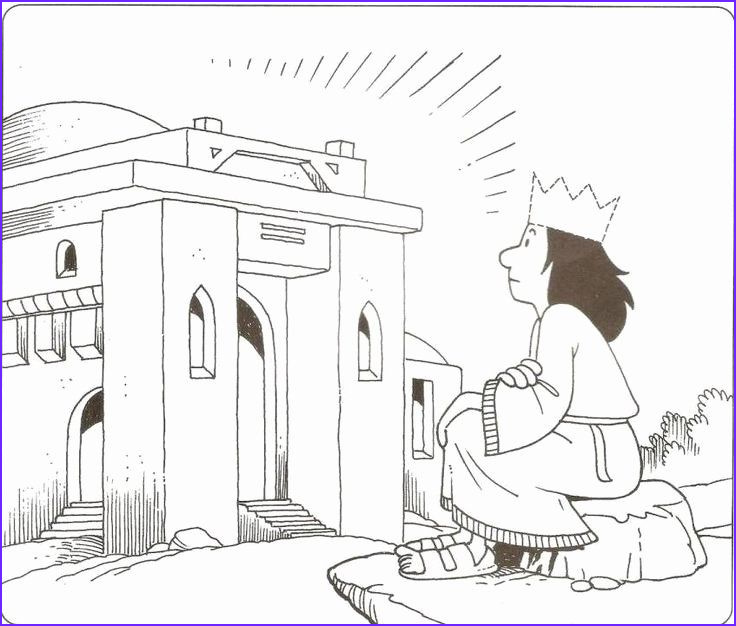 Building the Temple Coloring Page New Photos 32 solomon S Temple Coloring Page In 2020