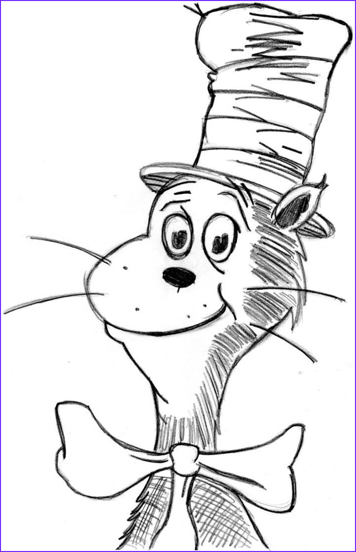 Cat In the Hat Coloring Page Free Best Of Photos Cat In the Hat Coloring Book