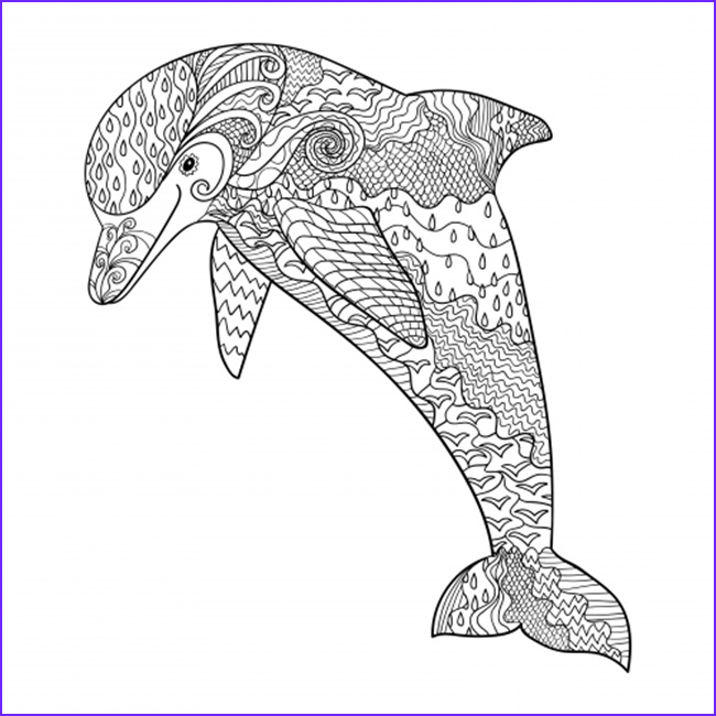 Dolphin Printable Coloring Page Luxury Photos 12 Free Printable Adult Coloring Pages for Summer